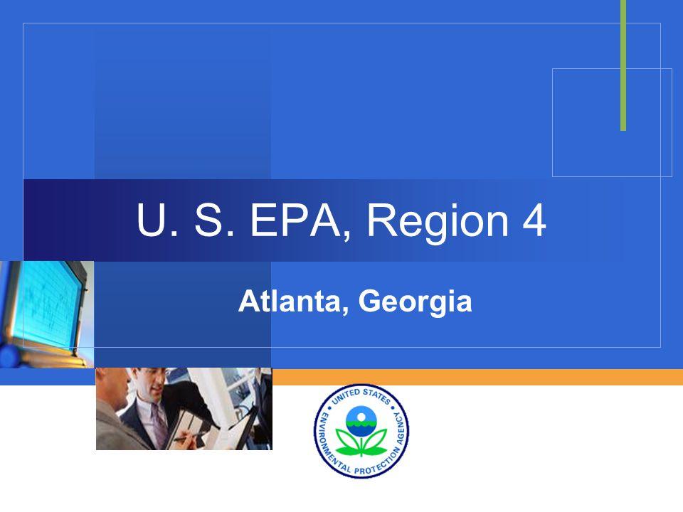 Company LOGO U. S. EPA, Region 4 Atlanta, Georgia