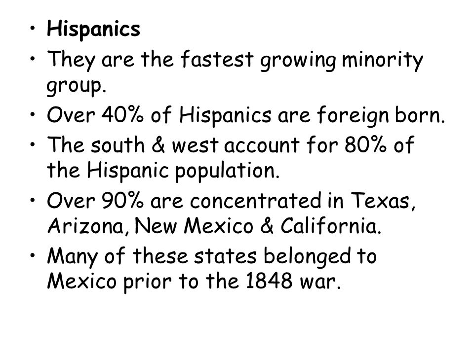 Most Puerto Ricans live in states like NY and NJ.