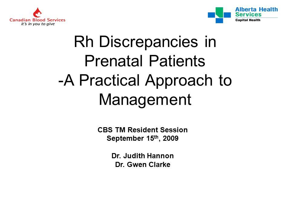 Rh genetics… a brief review Rh genetics