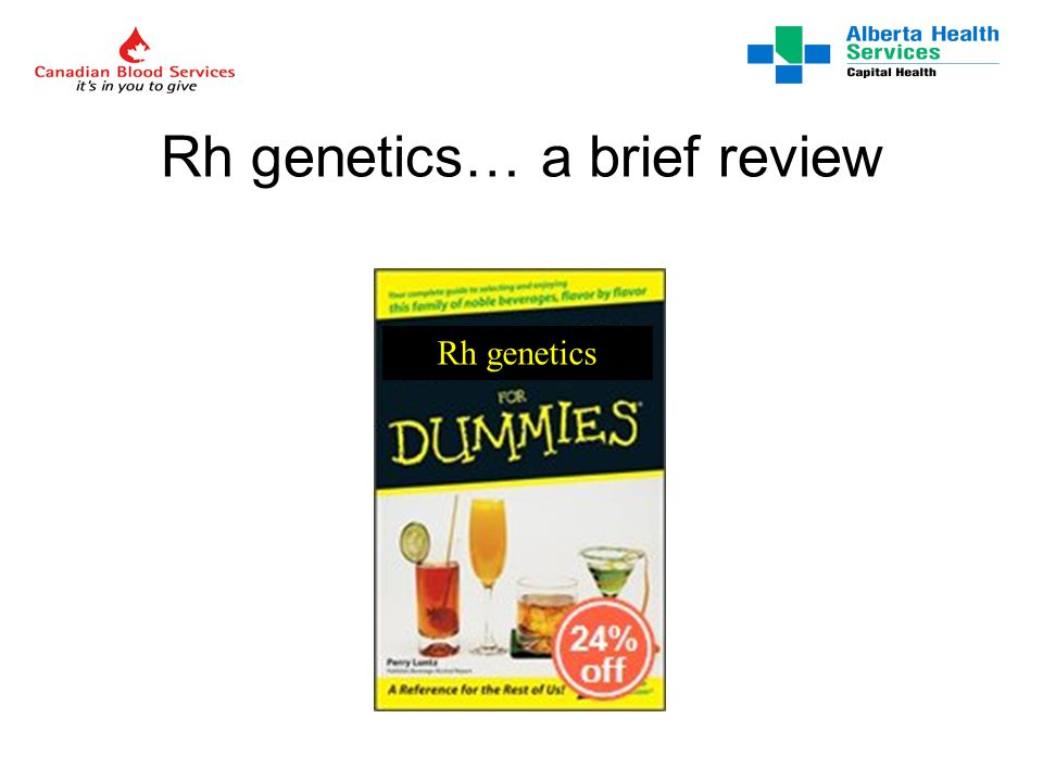 Science.uwe.ac.uk Rh D and Rh CcEe