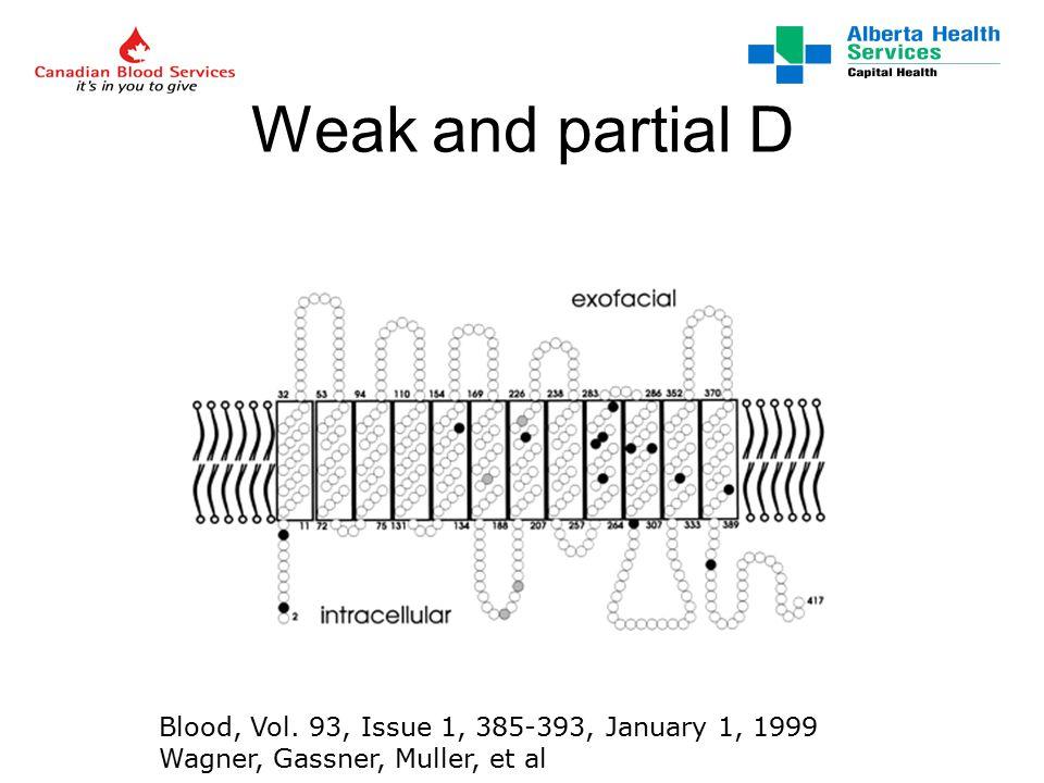 CBS Edmonton Rh Discrepancy Algorithm for Prenatal Testing *Tube Test – Direct Agglutination (DA) is 5 min RT incubation for S4 & S5.