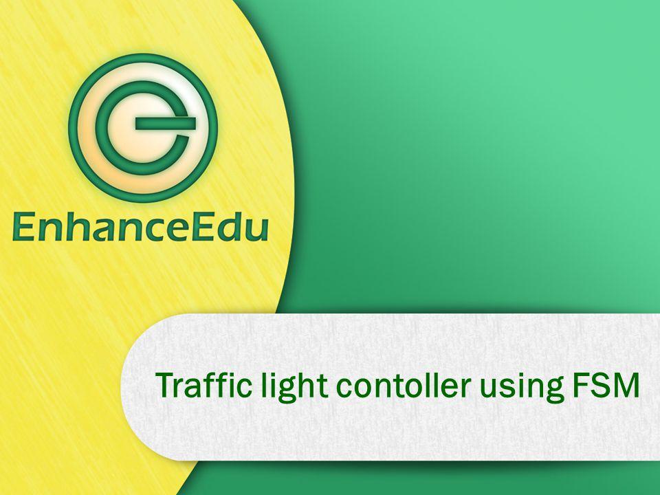 Traffic light contoller using FSM