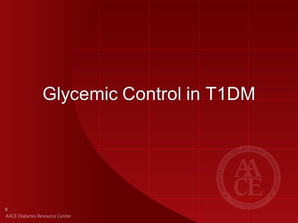 5 Glycemic Control in T1DM