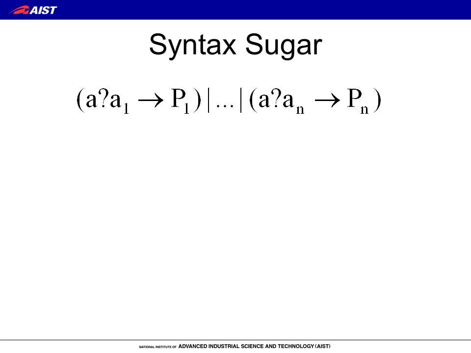 Syntax Sugar