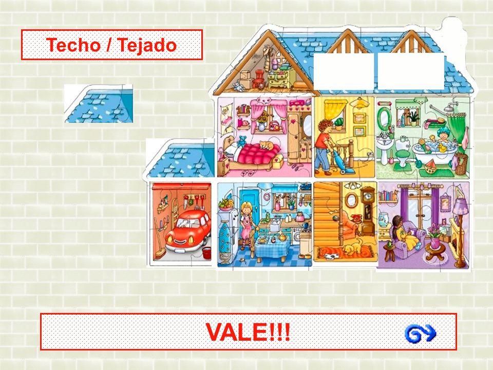Techo / Tejado VALE!!!
