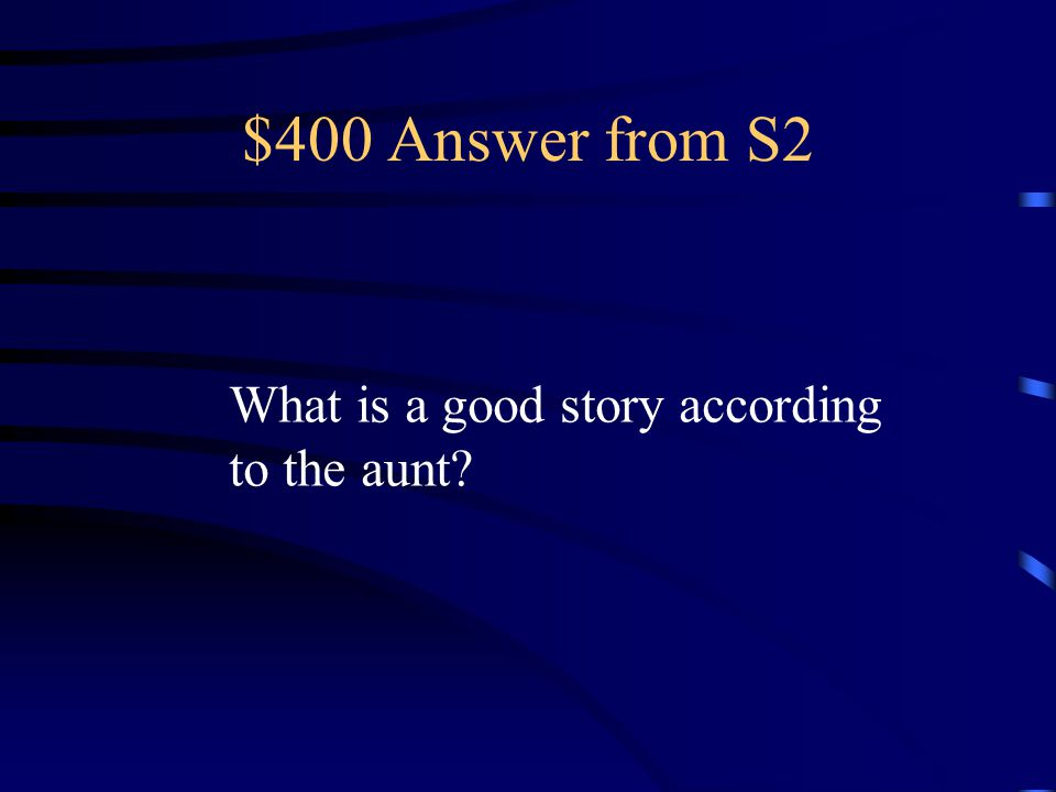 $300 Answer from S2 Saki