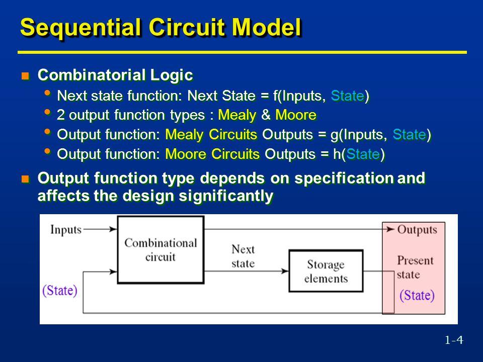1-35 State Minimization Algorithm n Stepwise partition refinement.