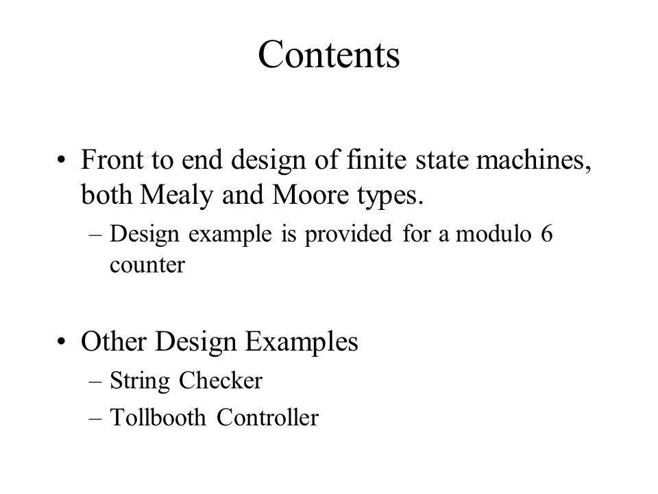 String Checker – State diagrams (i)
