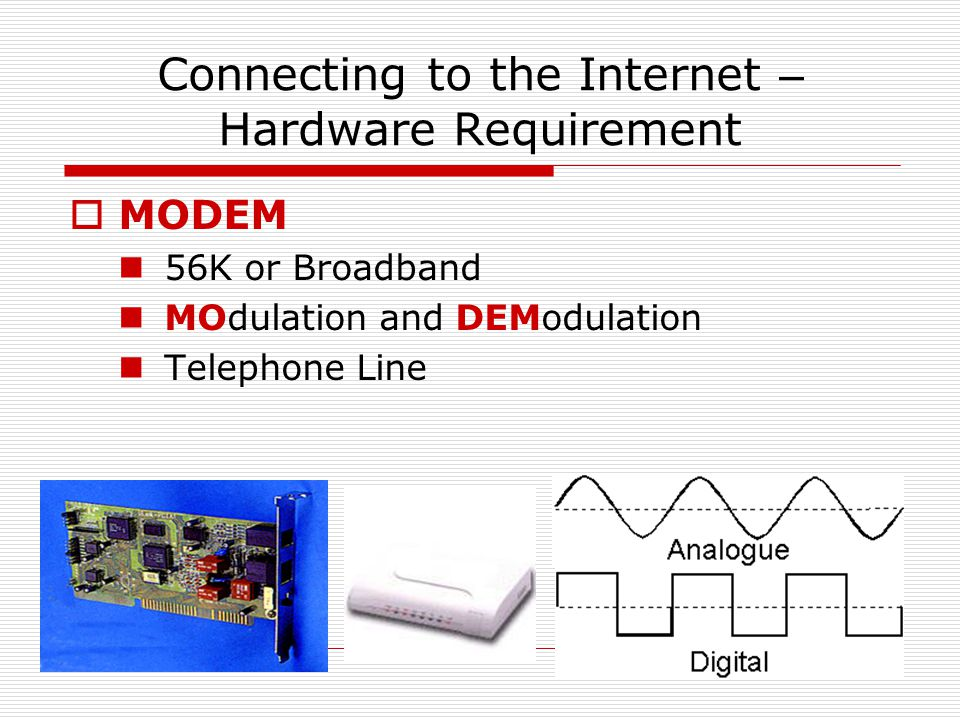 How can we share Internet access in a LAN to a Broadband.