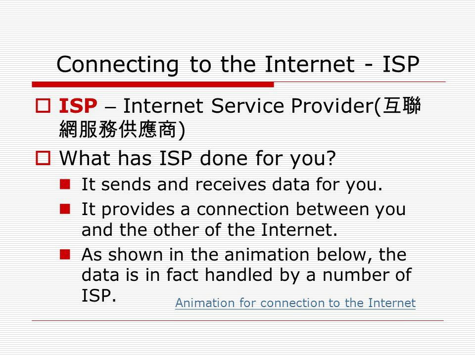Is ISP running the Internet. No single organization runs the Internet.
