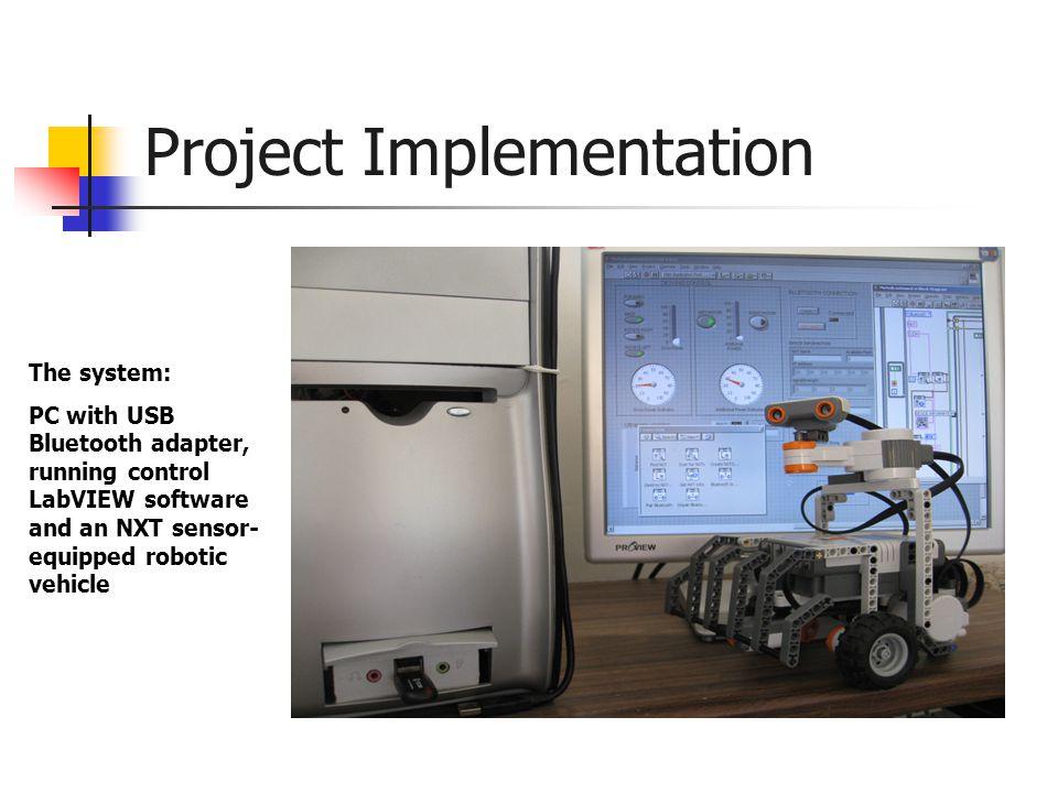 Example RobotC Program task main() { SensorType[S4] = sensorSONAR; forward(); while(true) { if (SensorValue[S4] < 25) spin(); else forward(); }