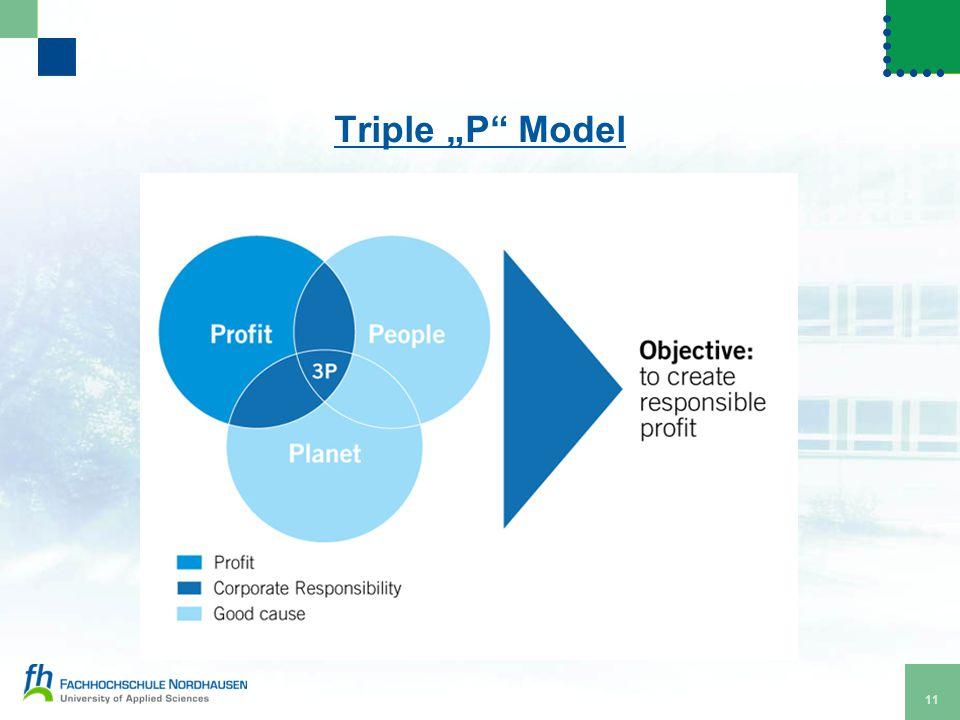 "11 Triple ""P"" Model"