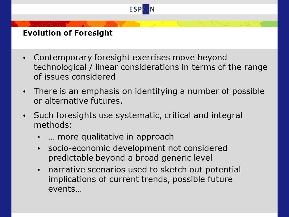 The Structure of the Future Perspectives Analysis: Rapid response to climate change + low levels of State/ EU support (S4) Rapid response to climate change + high levels of State/EU support (S3) Gradual response to climate change + limited State/EU support (S1) Gradual response to climate change + high levels of State/EU support (S2) Rapid response to climate change + low levels of State/ EU support (S4) Gradual response to climate change + high levels of State/EU support (S2) Rapid response to climate change + high levels of State/EU support (S3) Rapid response to climate change + low levels of State/ EU support (S4) Gradual response to climate change + high levels of State/EU support (S2) S1 AG- CC+ DS+ DPS+ S3 AG- CC- DS+ DPS+ S4 AG+ CC+ DS- DPS- S2 AG- CC- DS+ DPS-