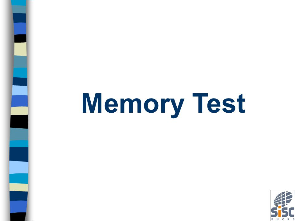 Built-In Self Test (BIST) Introduction for Memory Test