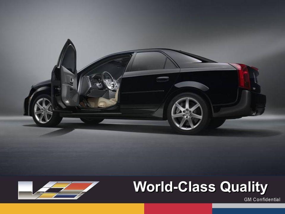GM Confidential World-Class Quality