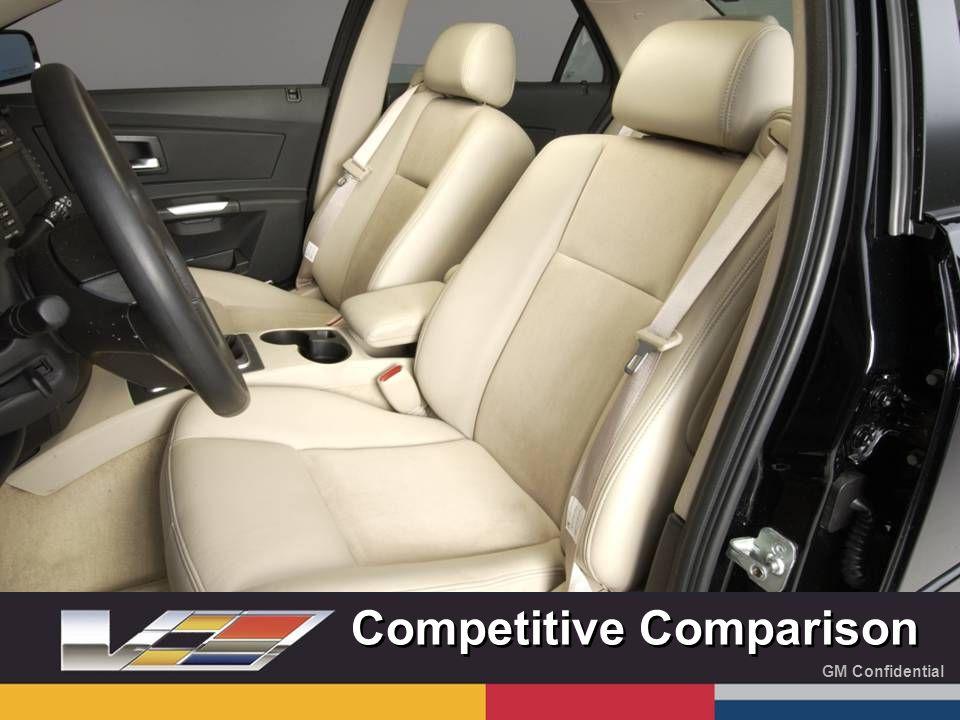 GM Confidential Competitive Comparison