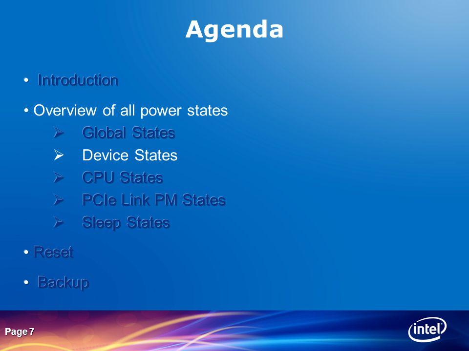 Page 7 Agenda