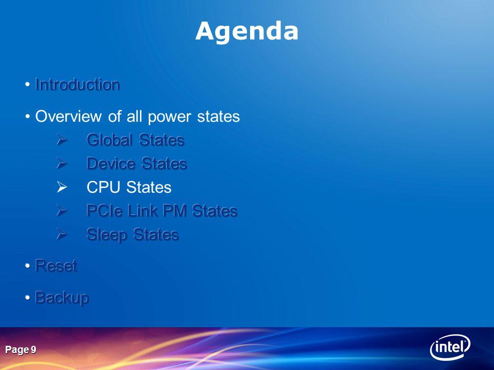 Page 9 Agenda