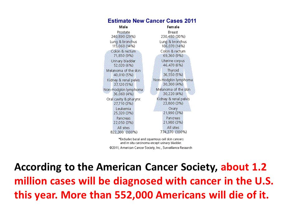 If we found the cure to cancer, there would be a terrible economic impact.