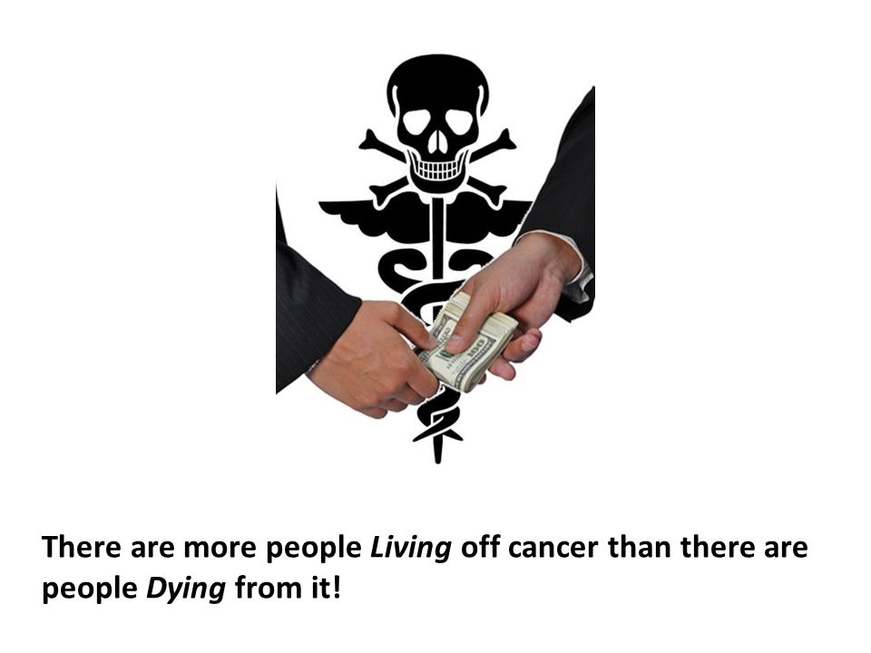 Of the millions of cancer patients being treated in the U.S.
