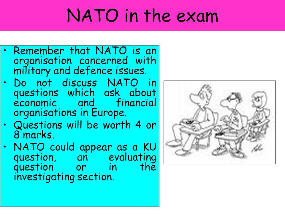 NATO – Credit level Exam Practice