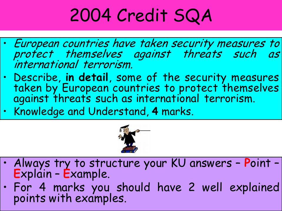2005 Model answer NATO has been involved in Macedonia and Kosovo.