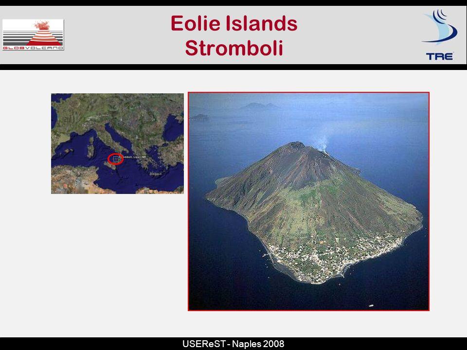 USEReST - Naples 2008 Eolie Islands Stromboli