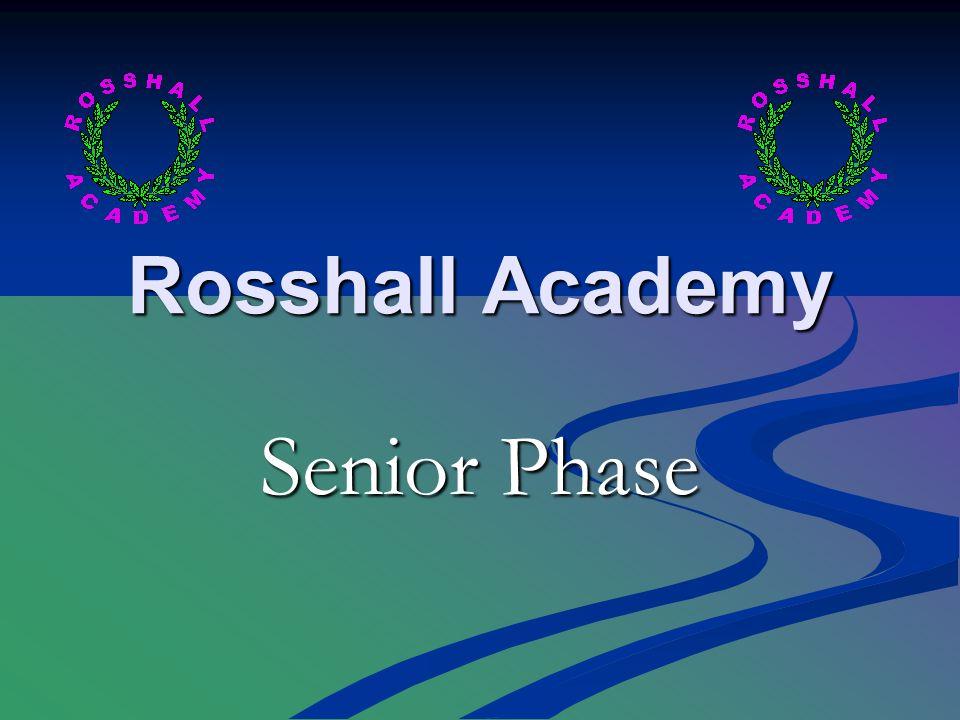 Rosshall Academy Senior Phase
