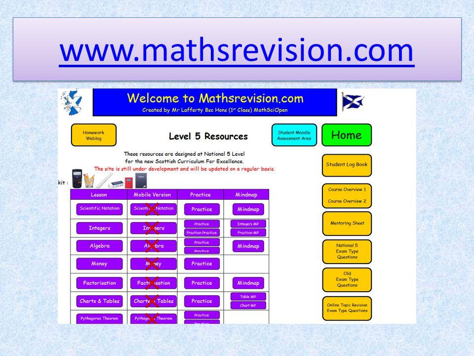 www.mathsrevision.com