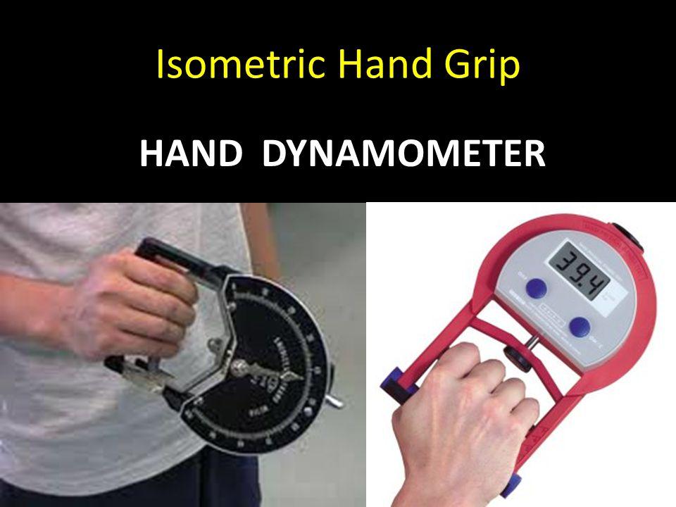 Isometric Hand Grip HAND DYNAMOMETER