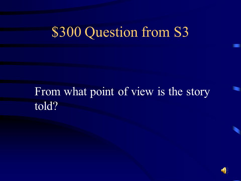 $200 Answer from S3 The teacher makes Charles her helper