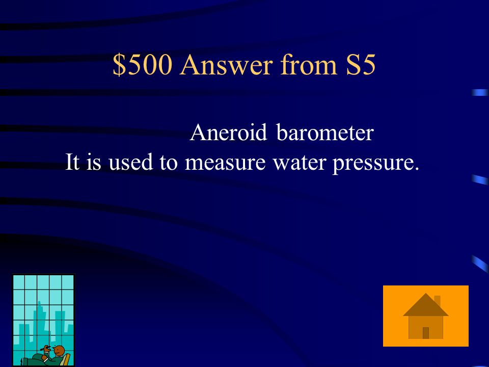 $500 Question from S5 What is the name of the instrument that the Sakkaro family brought on their trip to the park and what does it do?
