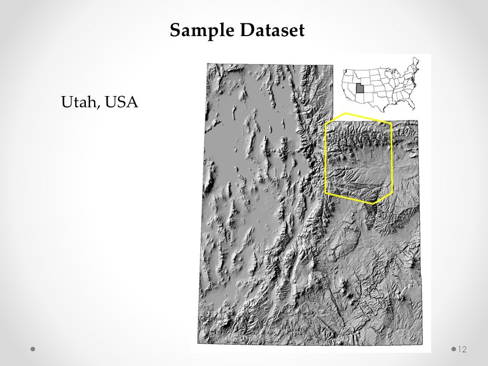 Utah, USA Sample Dataset 12