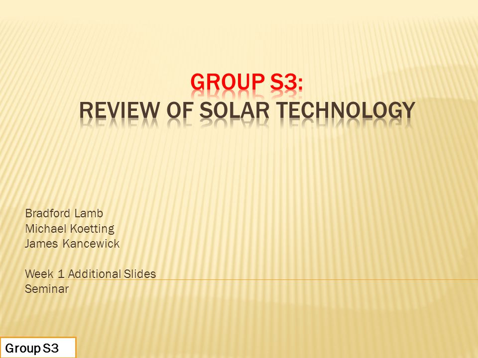 Presentation: Nanotechnology in Industrial Applications By Group 6