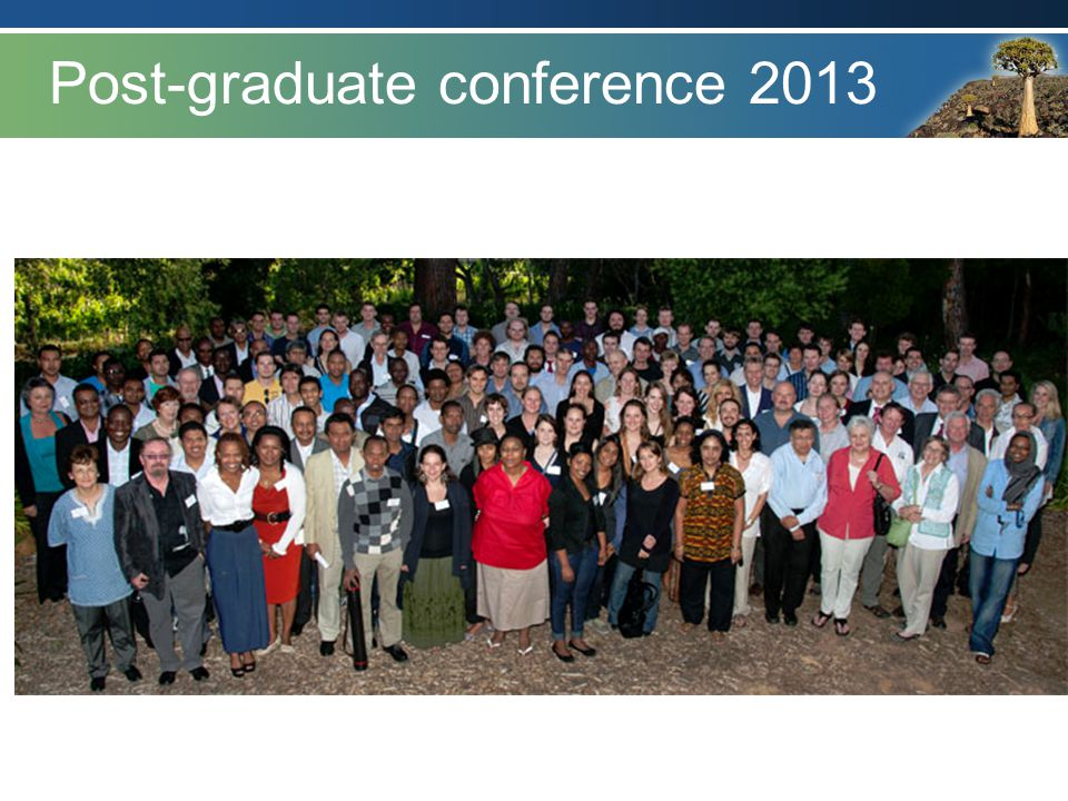 Post-graduate conference 2013