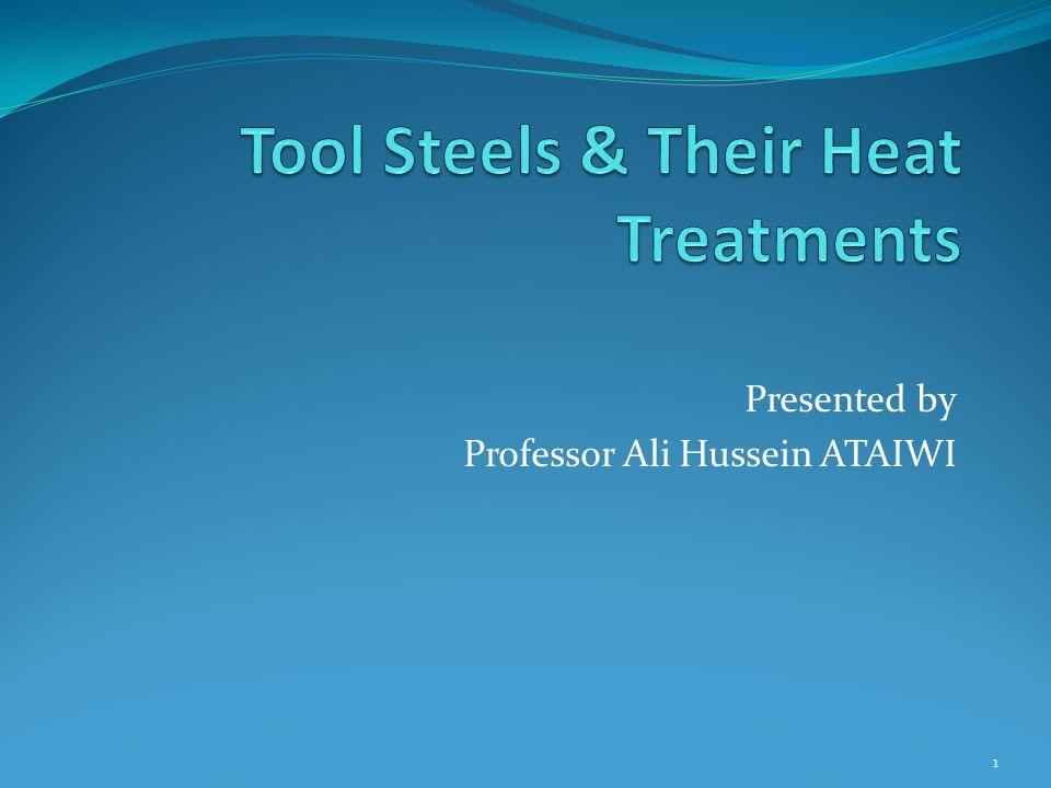 Presented by Professor Ali Hussein ATAIWI 1