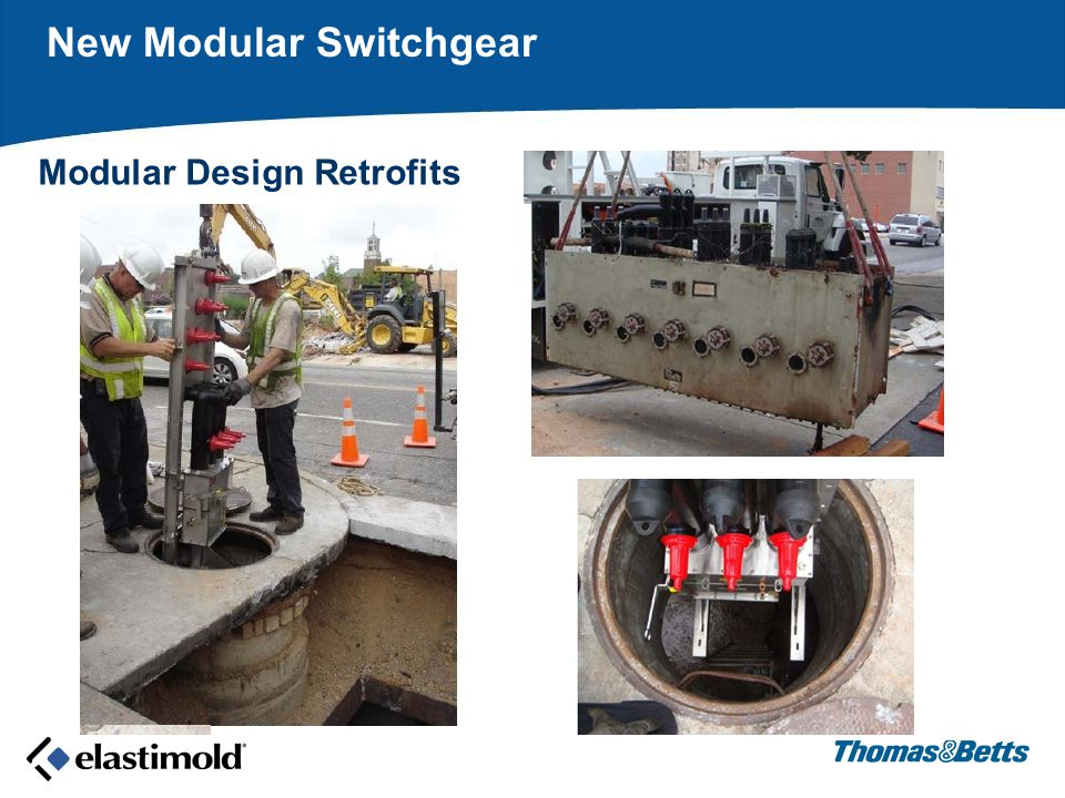 Modular Design Retrofits New Modular Switchgear