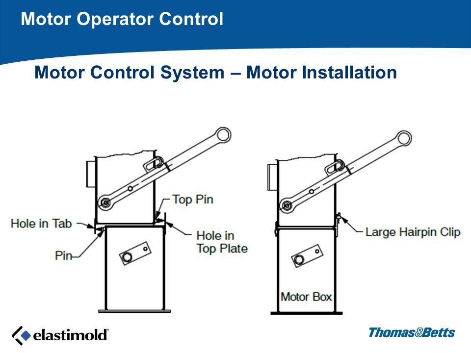 Motor Operator Control