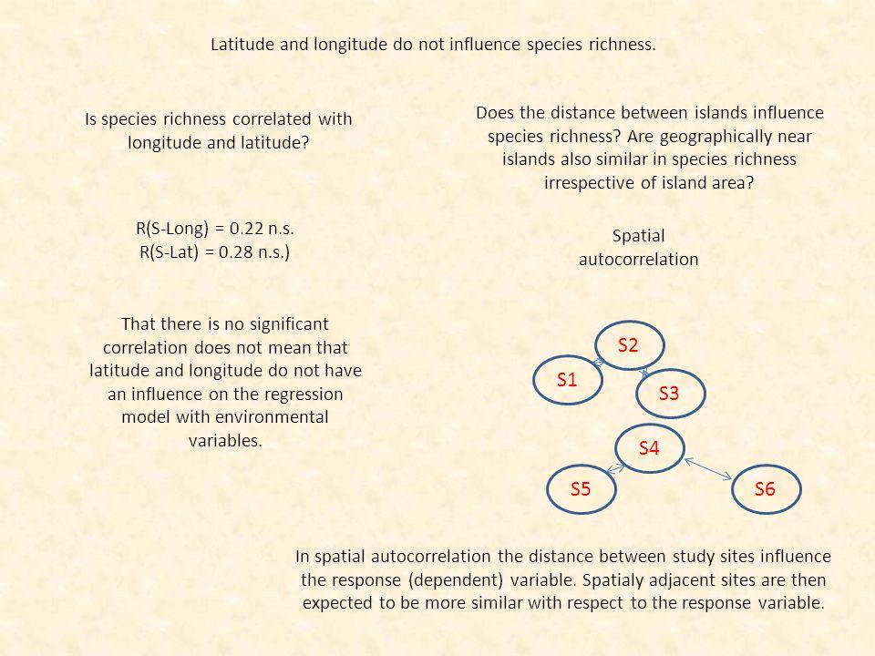 Island ensembles differ in species richness and abundance.