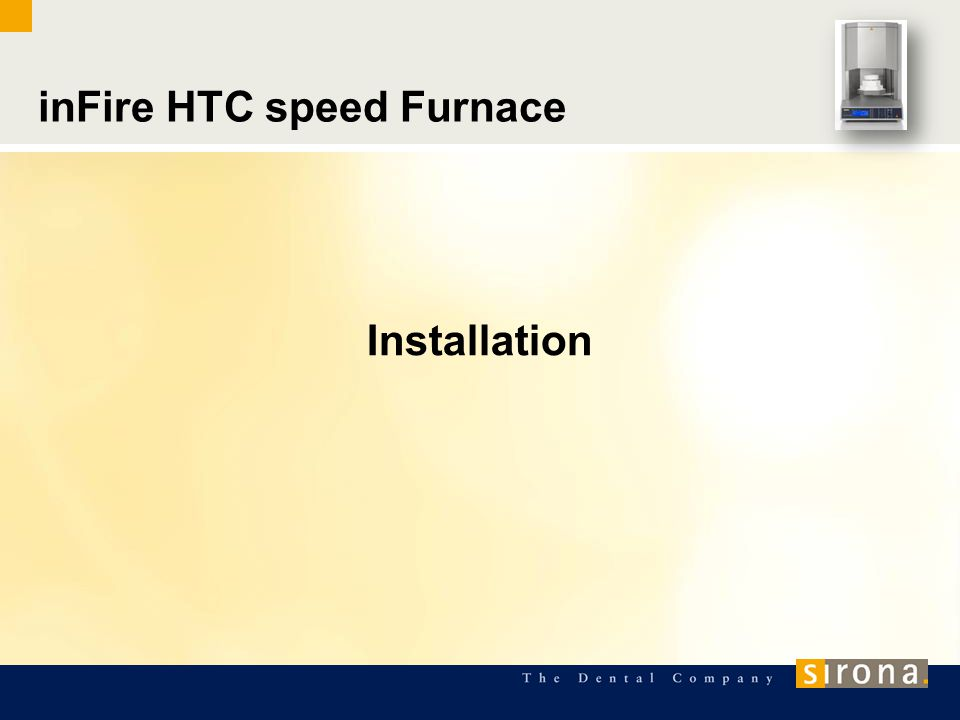 inFire HTC speed Furnace Installation
