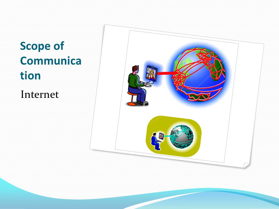 Scope of Communica tion Internet