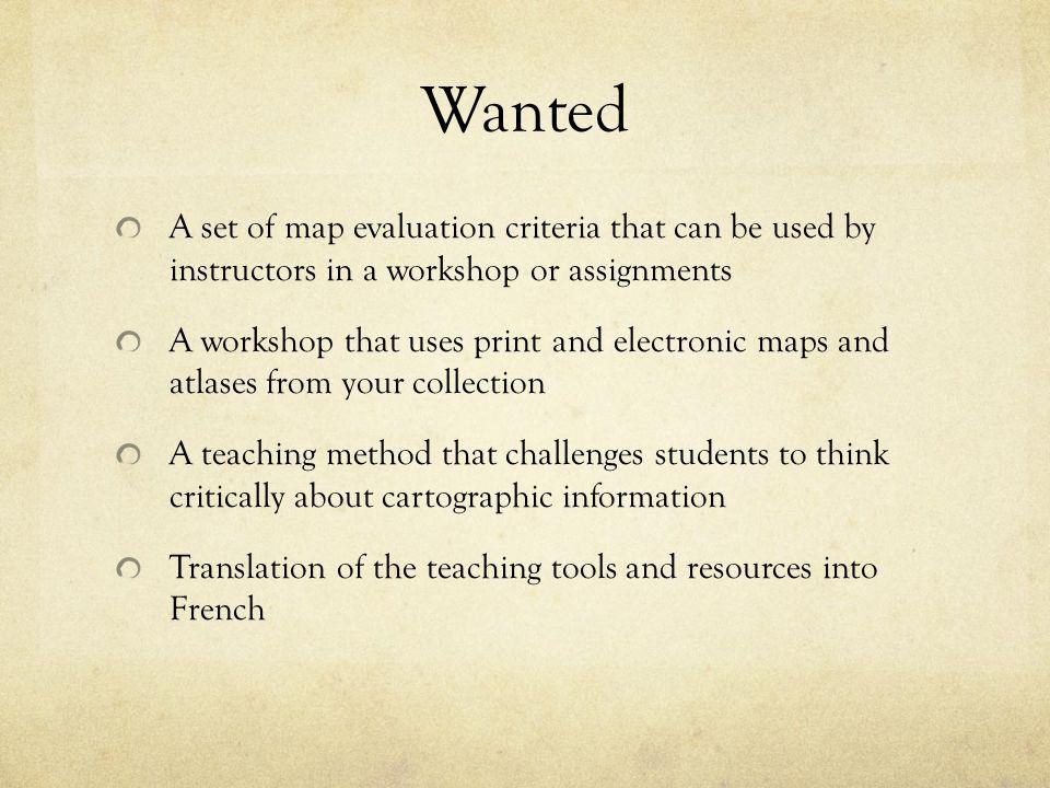 Map – Carte #3 Carte génerale – Ville Marie