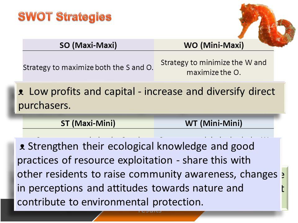 SO (Maxi-Maxi)WO (Mini-Maxi) Strategy to maximize both the S and O.