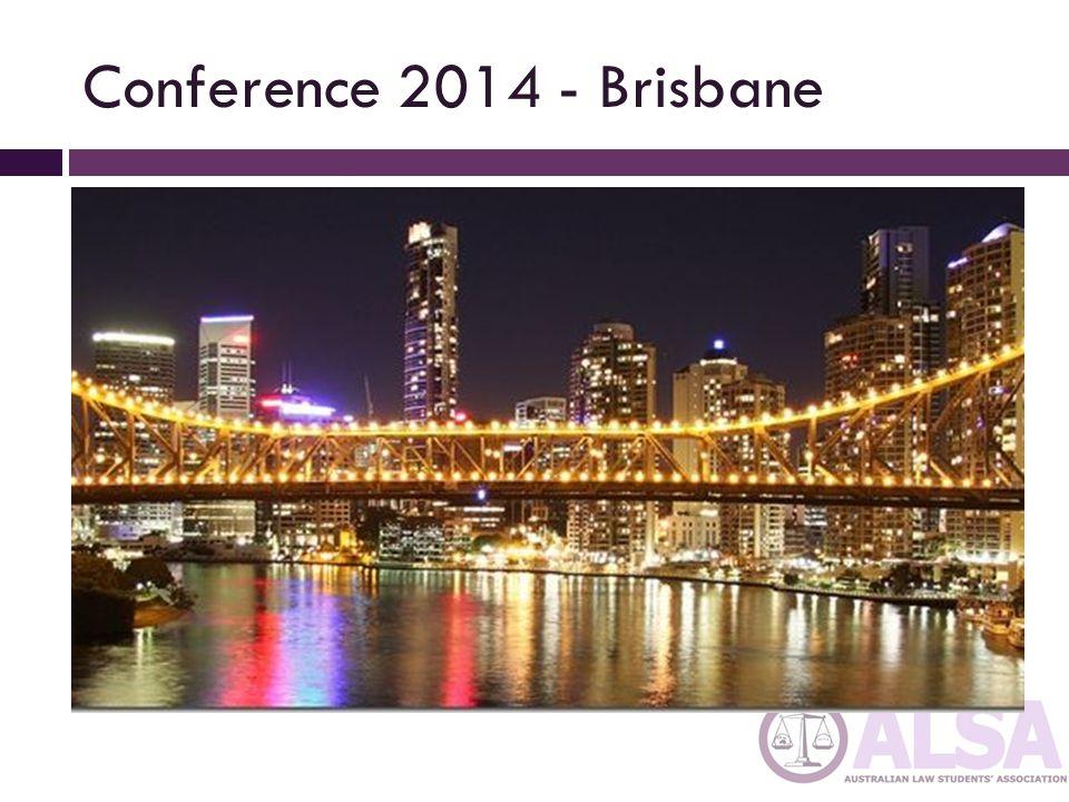 Conference 2014 - Brisbane