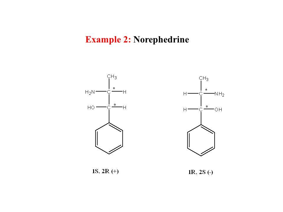 Example 2: Norephedrine