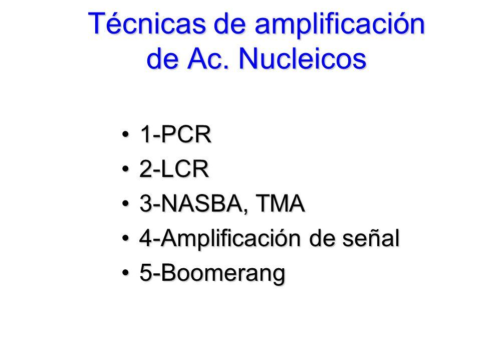 Técnicas de amplificación de Ac.