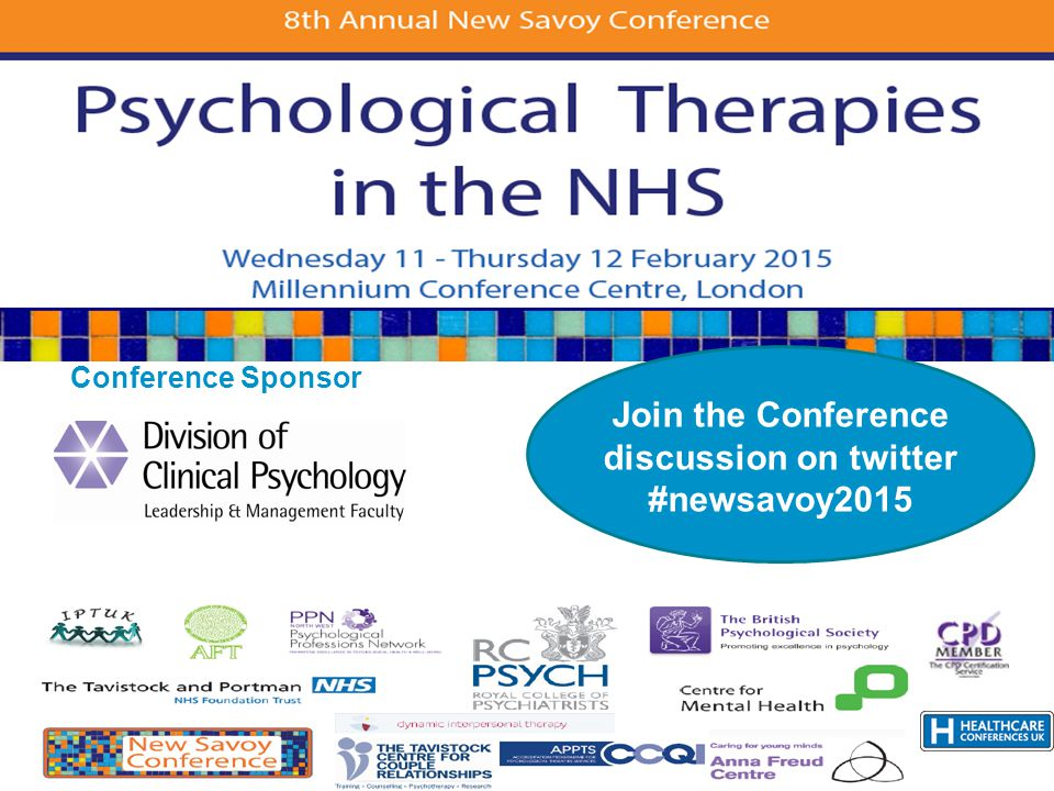 Conference Sponsor Join the Conference discussion on twitter #newsavoy2015