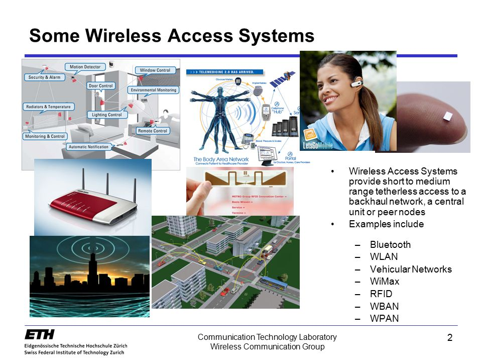 Communication Technology Laboratory Wireless Communication Group Delay Power Spectrum of Broadband System Scattering function –2nd order statistics of the spatio- temporal fading process Delay power spectrum –rms delay spread with the mean delay S1 S3 S4 Doppler shift Delay power spectrum 43
