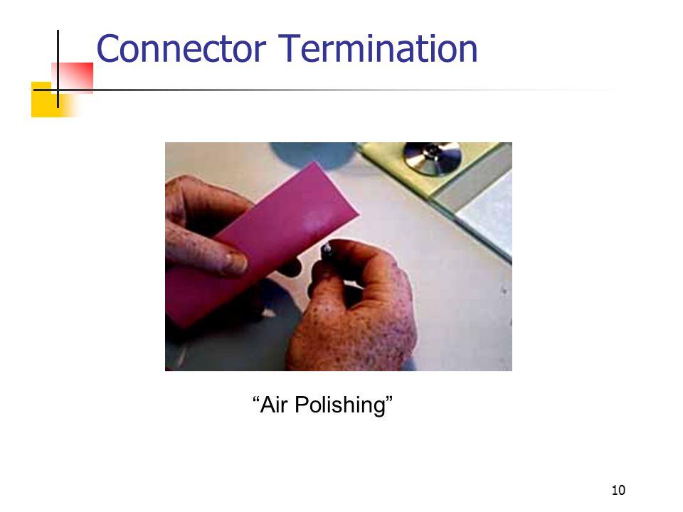 """10 Connector Termination """"Air Polishing"""""""
