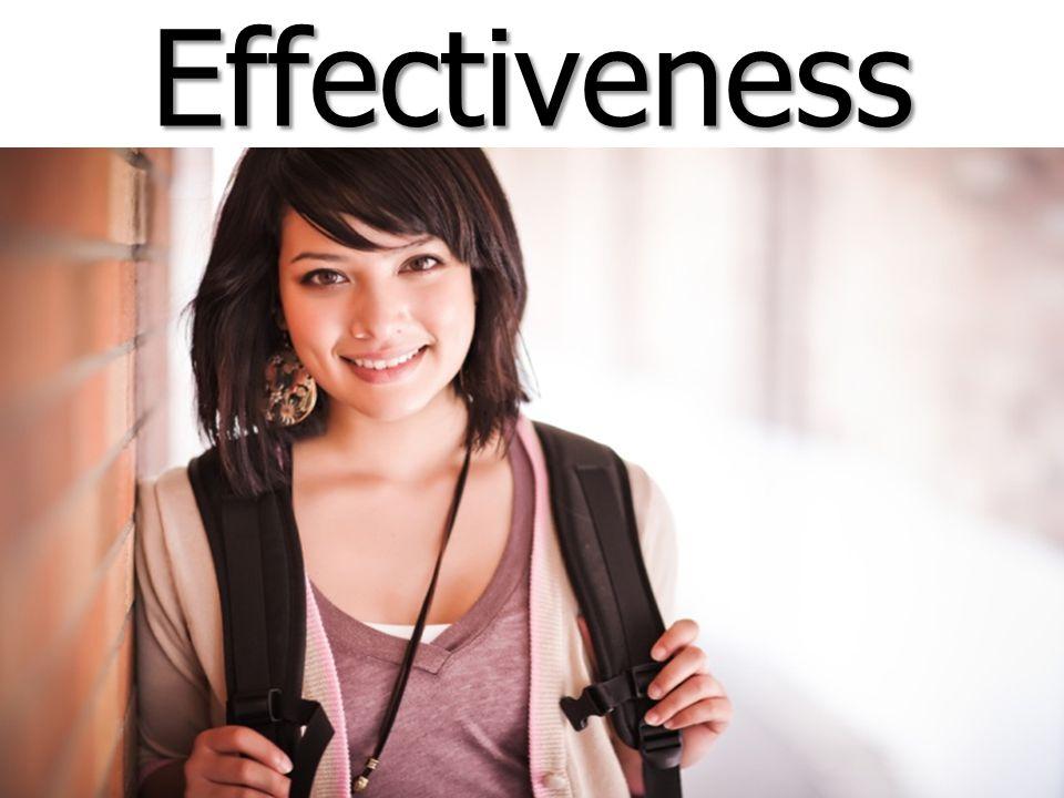 EffectivenessEffectiveness
